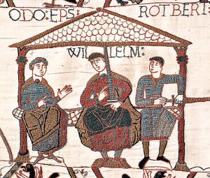 William the Conqueror and his two half-brothers