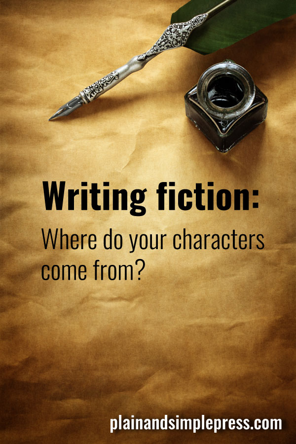 Writing fiction - Where do your characters come from?
