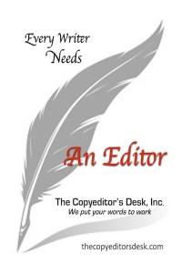 Every writer needs an editor