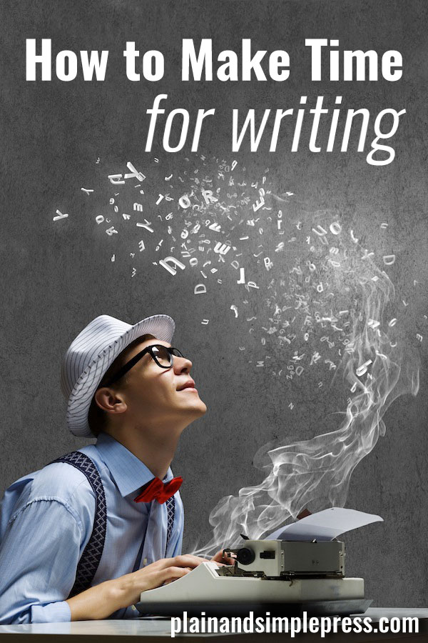 Tips to help make writing a priority when life is busy.