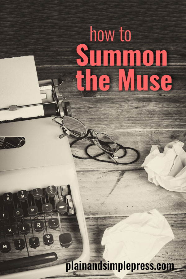 Is it possible to summon the muse? Here's practical advice for harnessing the artistic impulse and turning it into a writing career.