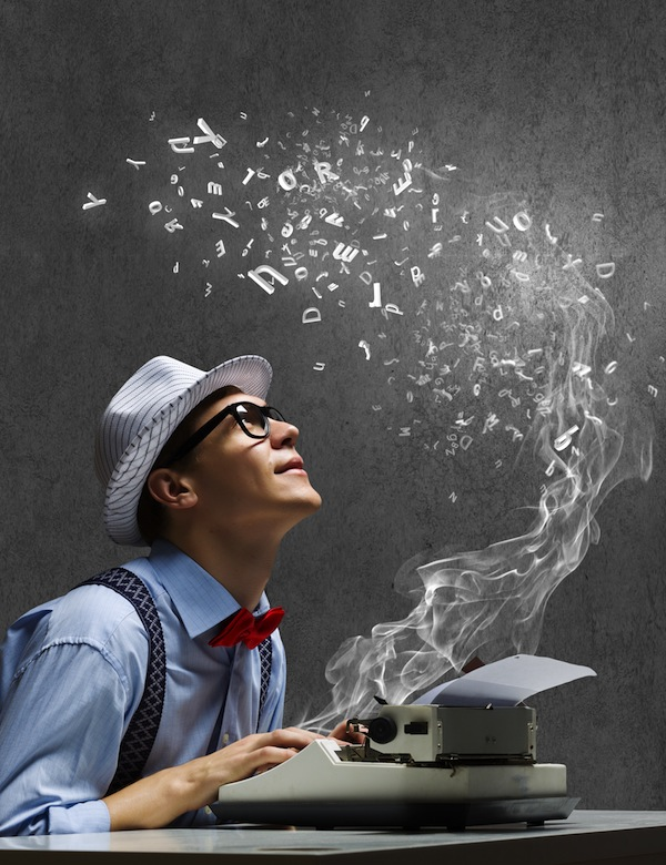 Smoking Typewriter shutterstock_176605295