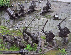 Fire-rider siege